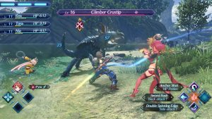 A Battle in Xenoblade Chronicles 2